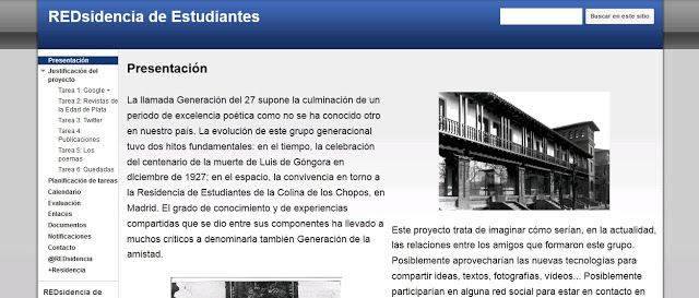 El profesor Nacho Gallardo en su blog presenta diversos proyectos para la asignatura de Lengua. Están clasificados por niveles educativos y hay un enlace a cada uno de los proyectos.