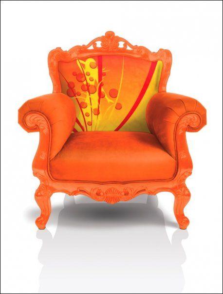 Noel Duigan In Living Color Orange