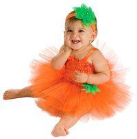 Baby Pumpkin Tutu Costume - Baby Halloween Costumes  www.facebook.com/PumpkinPatchTV