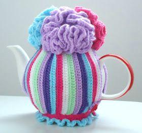 Miss Julia's Vintage Knit & Crochet Patterns: Free Patterns - 20+ Tea Cozy to Knit & Crochet