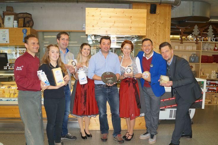 STOCK TEAM @ Sennerei Zillertal Tirol Österreich