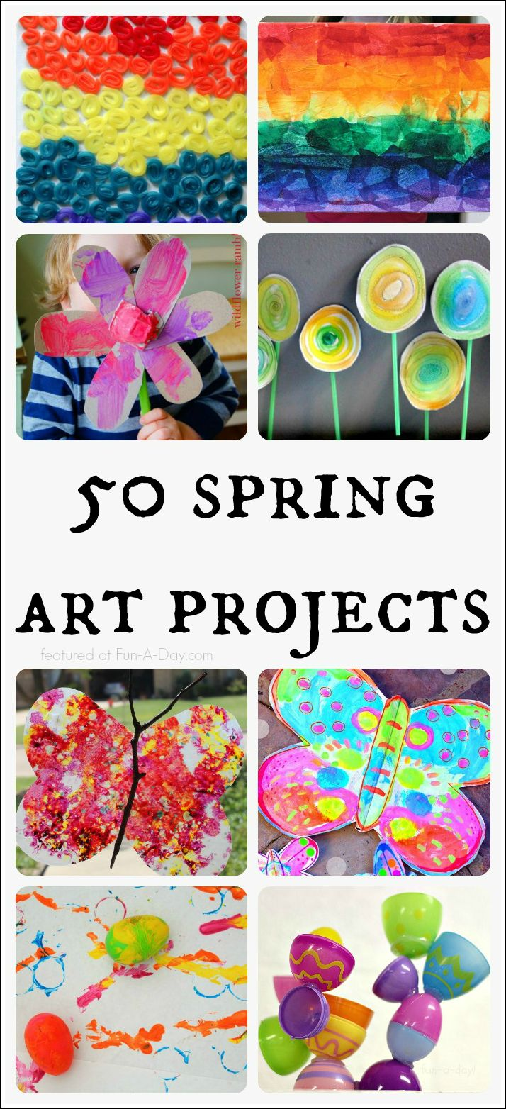 50 Spring Art Projects for Kids.