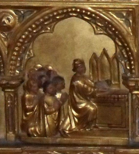Bartolomeo di Paolo e Caterino d'Andrea: Paliotto dei Corpus Domini, XV sec. Venezia, museo Correr (Bartolomeo di Paolo e Caterino d'Andrea) #Museocorrer