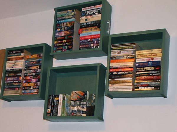 25 best dresser drawer shelves ideas on pinterest for Cool cheap bookshelves