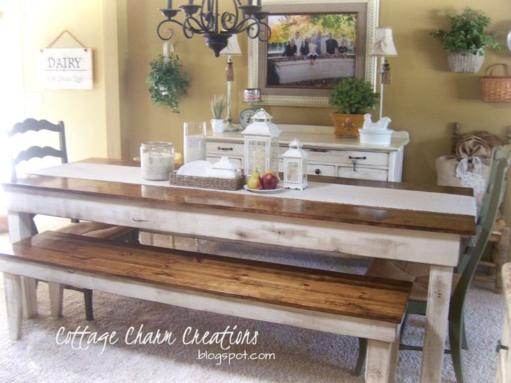 Farm Table To Seat 10 Charm Farmhouse Collection