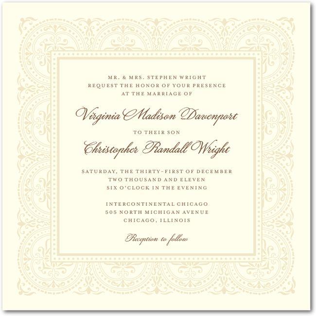 10 best Wedding Invitation Samples images on Pinterest Wedding - best of is invitation to tender
