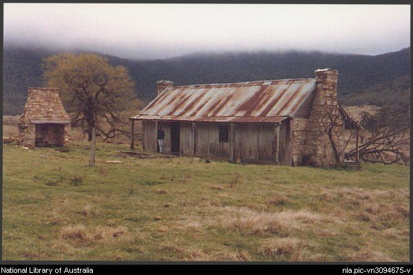 Rear view of Orroral Homestead