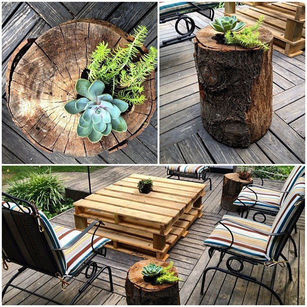2 simple diy projects for the backyard