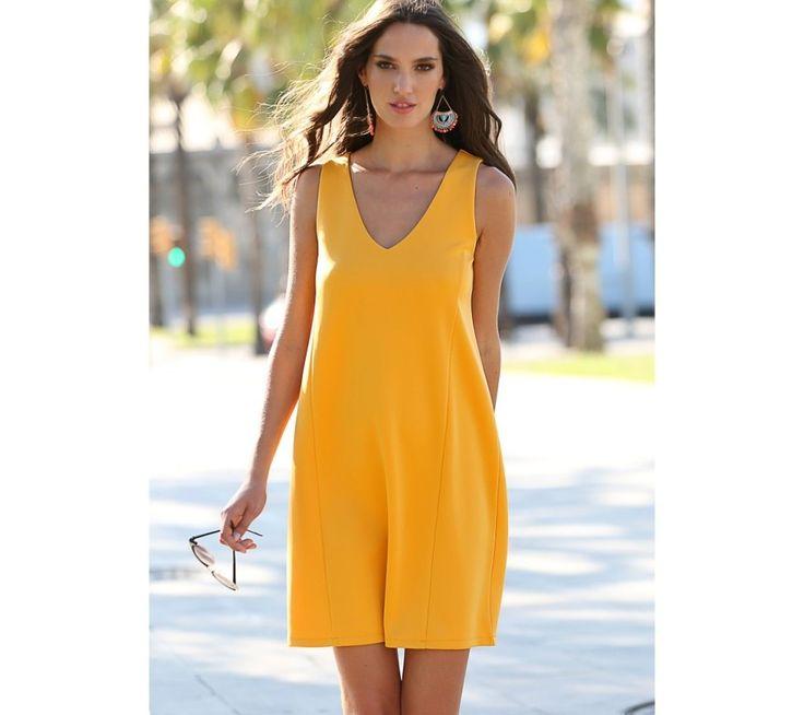 Krátké šaty bez rukávů   modino.cz #ModinoCZ #modino_cz #modino_style #style #fashion #bestseller #dress