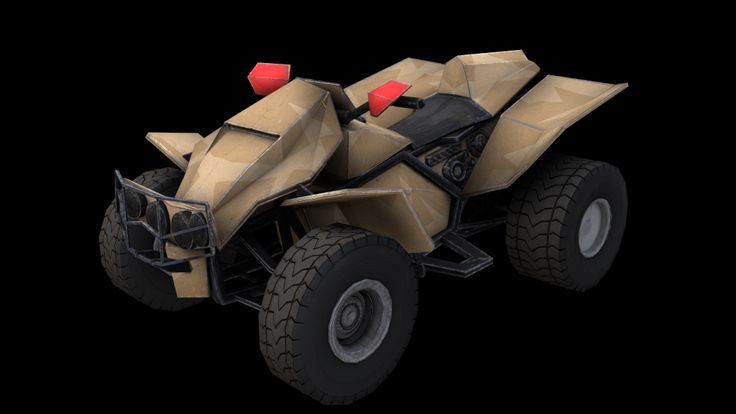 Future Military Quad Bike
