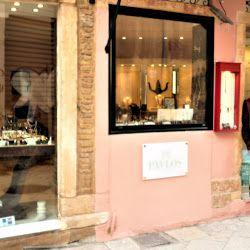 PAVLOS JEWELRY DESIGN   Agias Sofias 39 str  Corfu 49131  CORFU, GREECE   +30 6977320891 tel