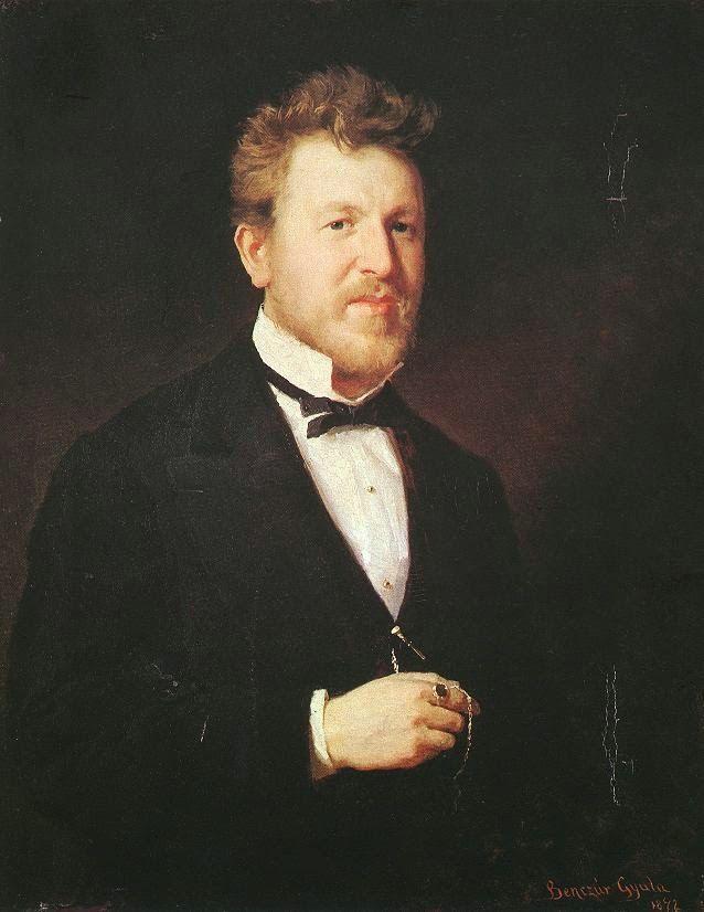 Πορτρέτο του Odon Eder (1872)