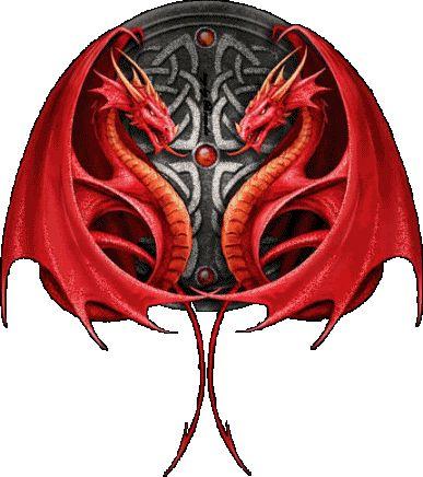 Dragons Fan Art: Red Dragons