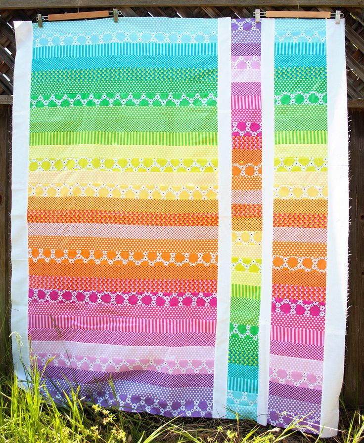 jelly roll quilt, cute and easy  xxxx