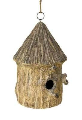 Faux Bois Birdhouse