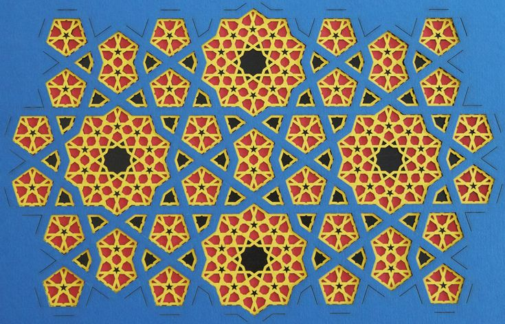 Islamic decoration makes great use of geometric patterns which have developed over the centuries. Description from pixgood.com. I searched for this on bing.com/images
