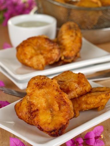 Beignets banane de la Réunion