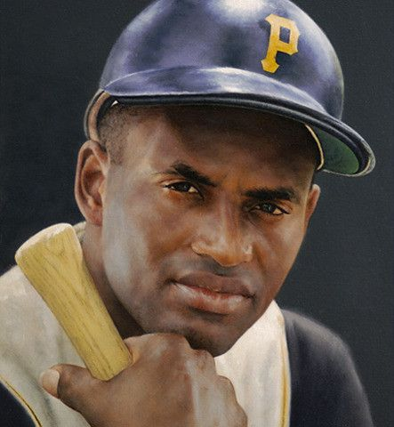 Roberto Clemente - Pittsburgh Pirates .317 lifetime batting average 4 batting tjtles