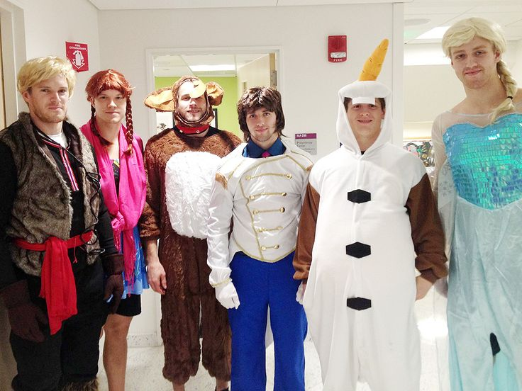 Boston Bruins Dress as Frozen Cast for Hospital Visit