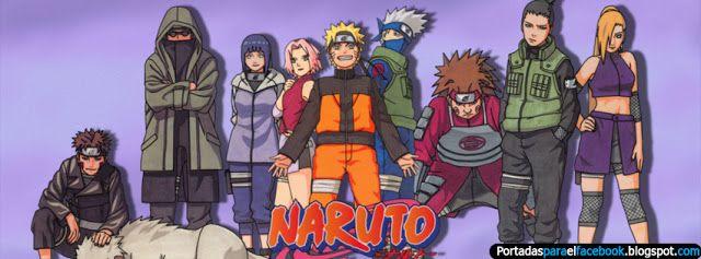 Portadas de Naruto Shippuden para facebook - Portadas para facebook