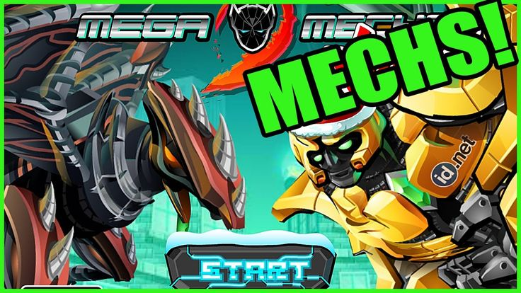 """VIDEO: Free Online Game - """"Mega Mechs 2"""" (Build and Fight!)  #gaming #fighting #game #indie"""