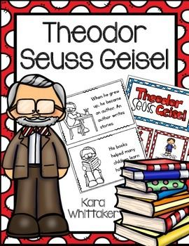 Theodor Seuss Geisel: Use this freebie to teach your students about the amazing life of Theodor Seuss Geisel!