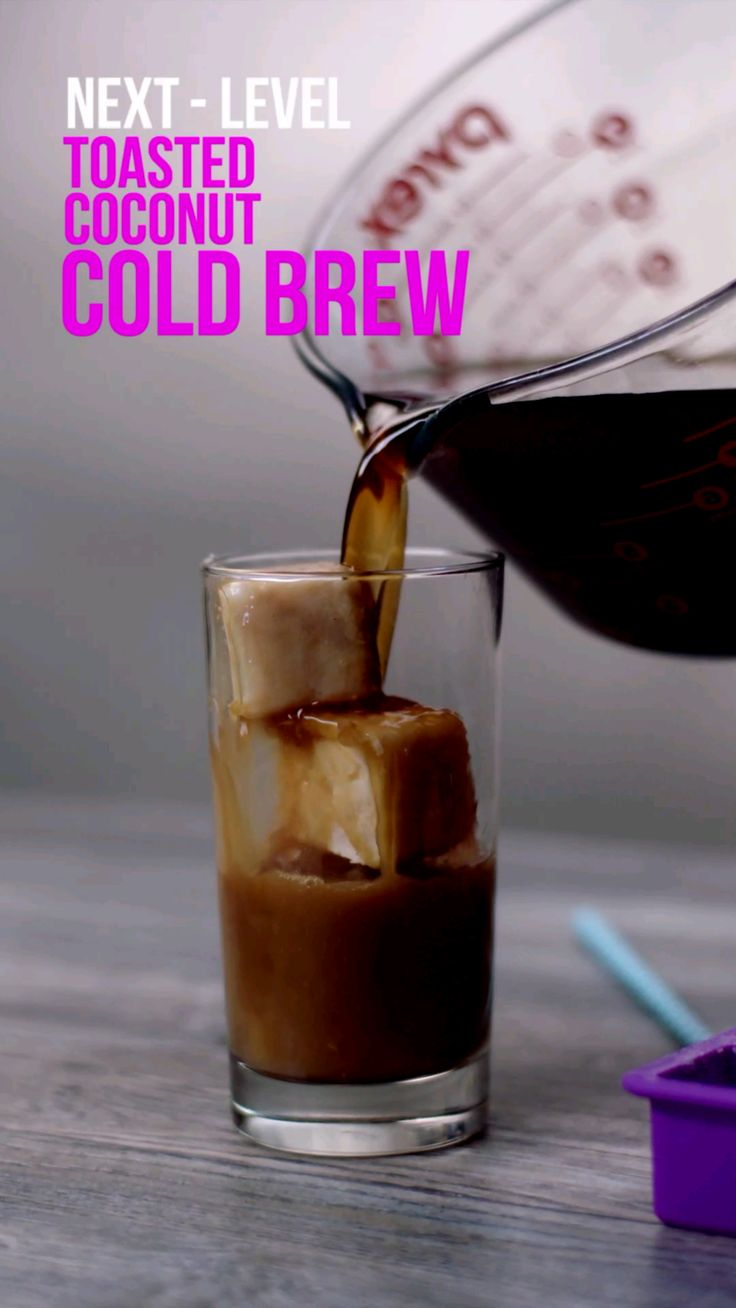 Next-Level: Toasted Coconut Cold Brew