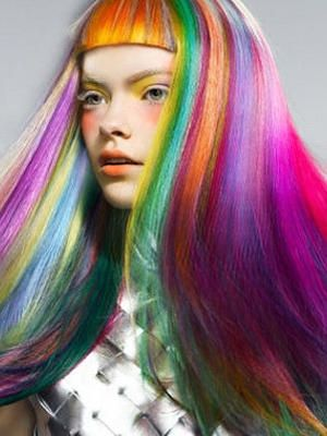 Best 25 colored hair extensions ideas on pinterest coloured dyeing colored hair extensions fluorescent multi colored clip in hair extensions bring style and pmusecretfo Images