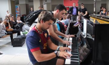 Watch Two Strangers Make Beautiful Music Together In A Paris Train Station