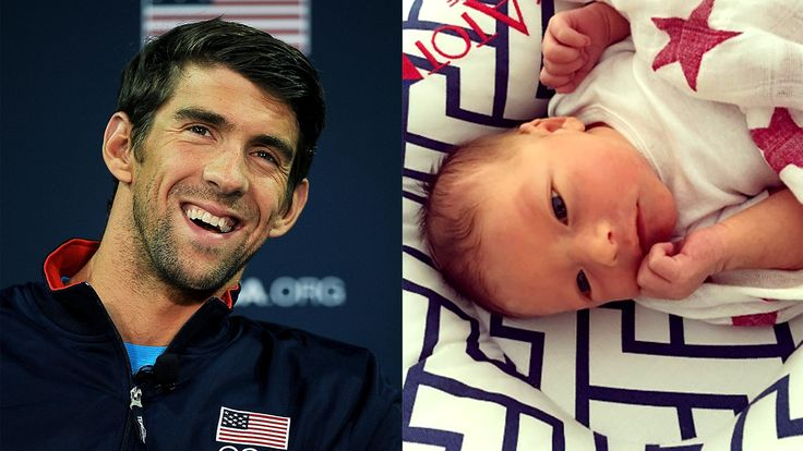 'New definition of love': Michael Phelps introduces baby son Boomer