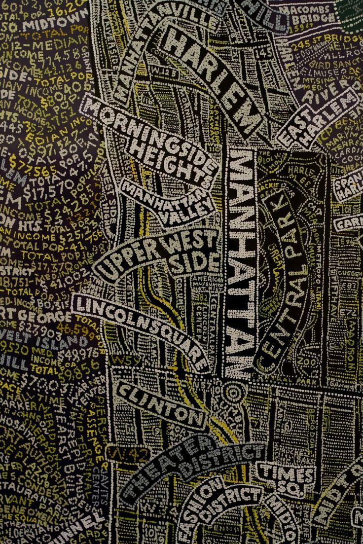 NYC Map, Paula Scher