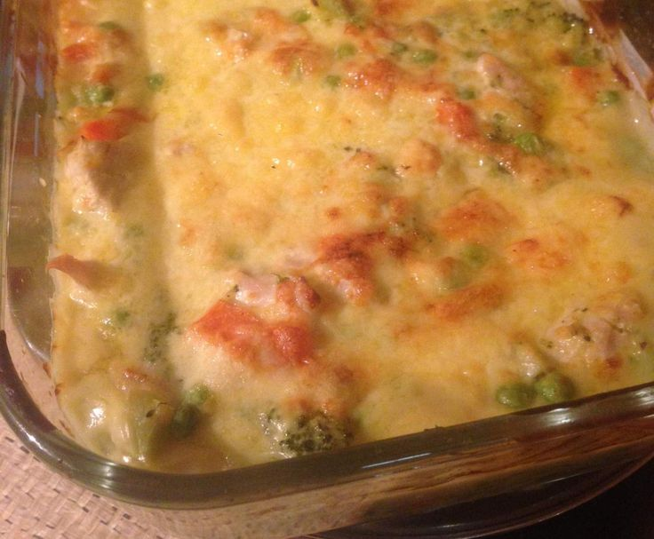 Recipe Chicken Broccoli Bake by Kristy.Thermomix - Recipe of category Main dishes - meat
