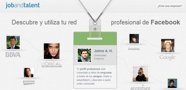Portal de empleo integrado en Facebook