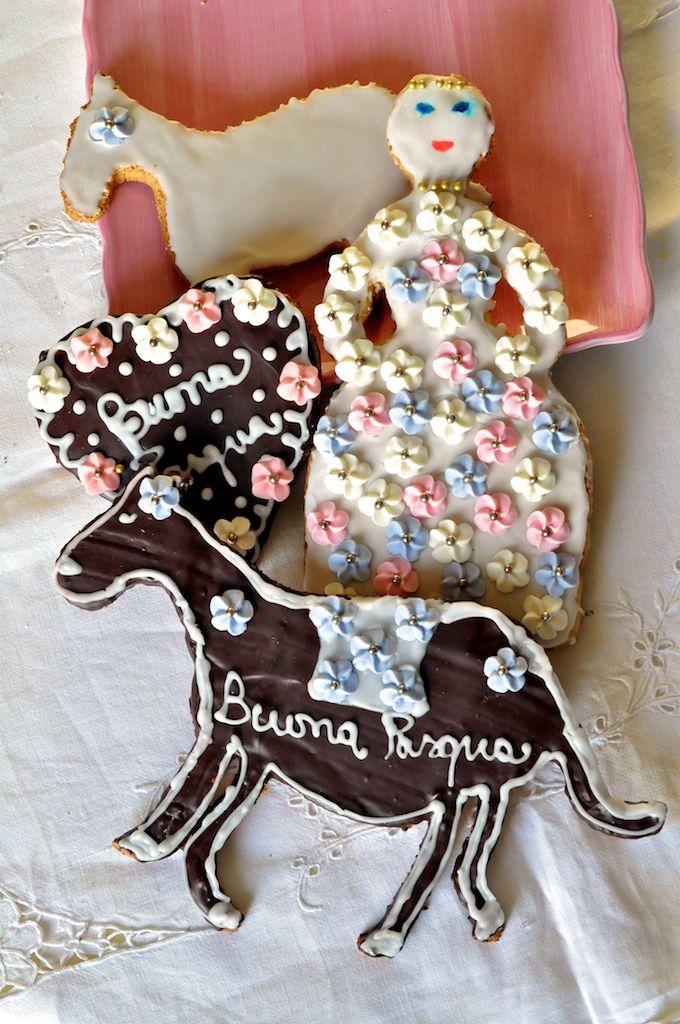 Pupe, cavalli, cuori per Pasqua