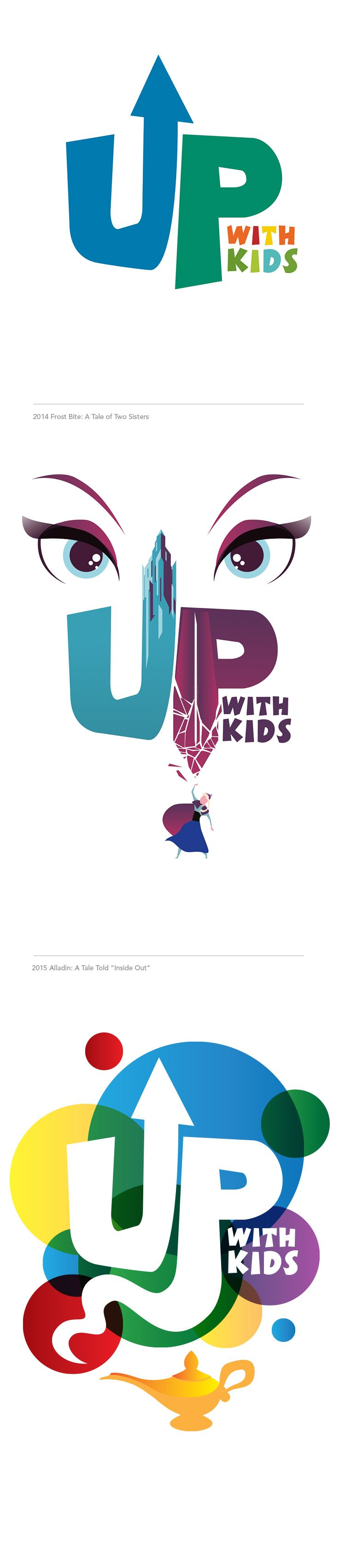 Up With Kids Visual Identity #epicmarketing #marketing #logo #identity #branding #graphicdesign #illustration #visualidentity