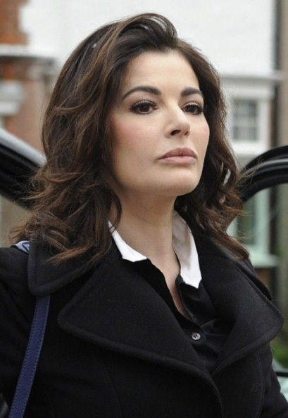 Celebrity chef Nigella Lawson pictured arriving at Isleworth Crown Court in London, Wednesday, December 4