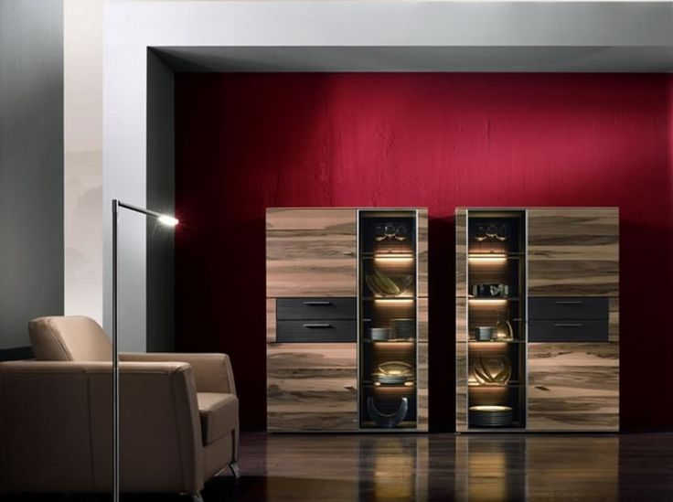 modern walnut furniture cabinet with exotic lighting 4 best picture 01 modern walnut furniture. Black Bedroom Furniture Sets. Home Design Ideas