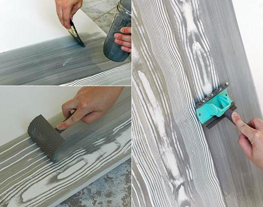 Die Besten 25+ Wandgestaltung Wischtechnik Ideen Auf Pinterest