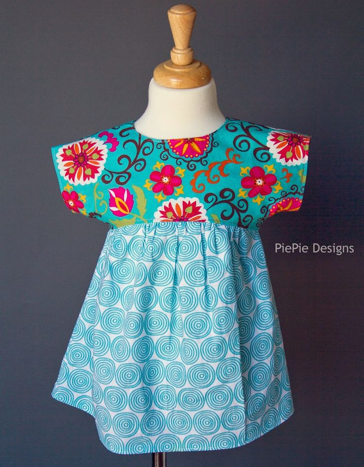 PiePie Designs: FREE Girl's Shirt Pattern: The Izzy Top