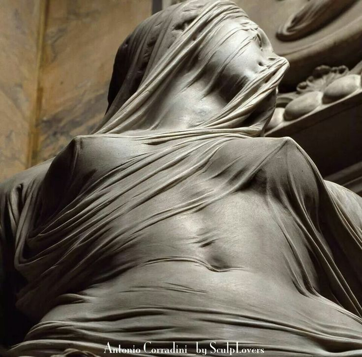 Amazing...the Veiled Sensuality by Corradini