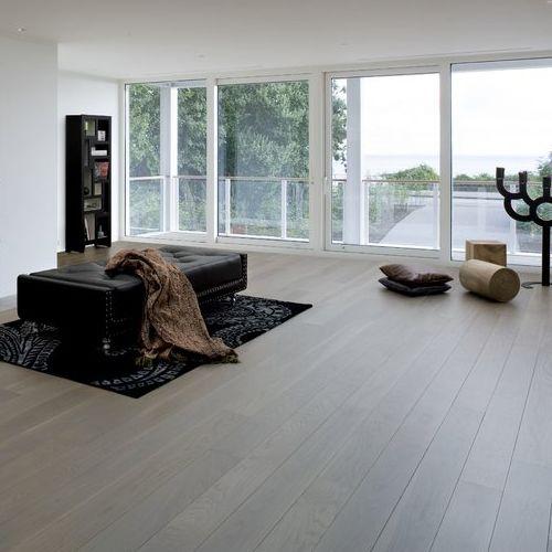 Las 25 mejores ideas sobre suelo oscuro en pinterest - Piso madera gris ...