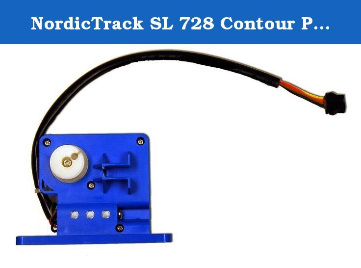 NordicTrack SL 728 Contour Plus Elliptical Resistance Motor Model Number NTC40151. This Is The Replacement Elliptical Resistance Motor For The NordicTrack SL 728 Contour Plus. For Model Number: NTC40151.