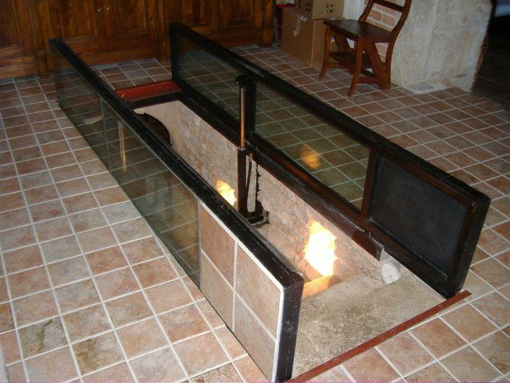 Trappe acc s une cave michel daunizeau serrurerie ferronnerie d 39 art aulnay de - Mezzanine trap ...