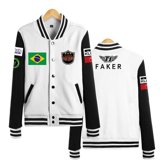 SK Telecom T1 (SKT T1) 2017 Brazil Mid-Season Invitational Team Jacket