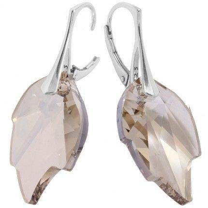 cercei cu cristale in forma de frunza http://www.bijuteriifrumoase.ro/cumpara/leaf-p-26-lvbck-2086