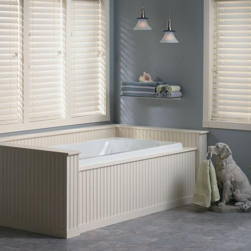 These durable Premium Faux Wood Blinds go where a wood blind wouldn't dare—lending real wood class to greasy kitchens, high-traffic coastal homes and steamy bathrooms.