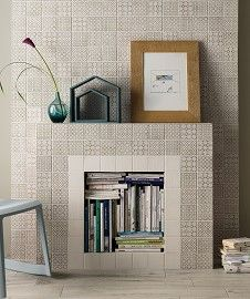Batik Patchwork Grey Tile