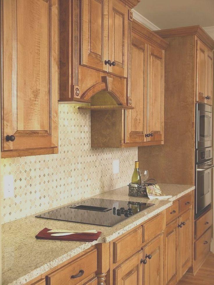 kitchen backsplash ideas with oak cabinets in 2020  oak