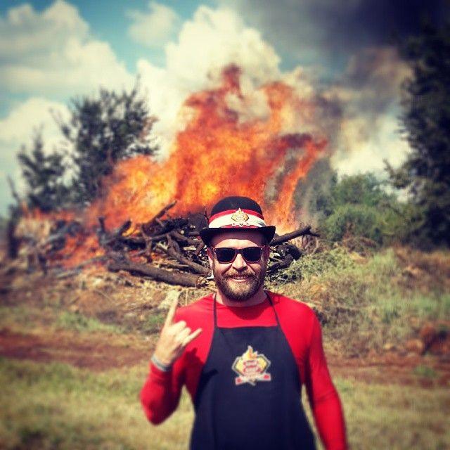 Bring die tjops... ONS GAAN NOU BRAAI #Otterlake #Fire #Flames