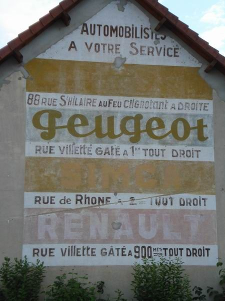 863 best publicites murales france images on pinterest for Garage peugeot 75012